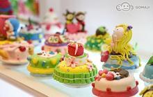Otto2藝術美學會館 2.7折! - 奶油蛋糕創意黏土教學 + 產品