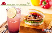 MOS BURGER 摩斯漢堡 7.1折! - 彩蔬霜降豚珍珠堡 + 覆盆子氣泡飲