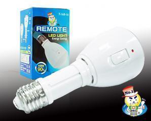 生活市集 2.4折! - 遙控省電LED燈泡