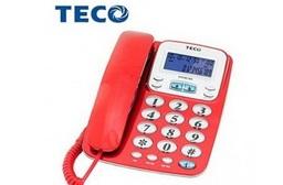 TECO 東元 來電顯示 大字鍵有線電話 XYFXC105