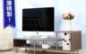 生活市集 2.4折! - 簡約造型高低電視櫃,限時2.4折
