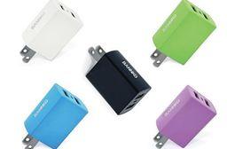 BANNKO AC210 2.4A雙USB高速充電器