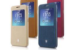BASEUS 倍思 Samsung Galaxy S7 G930F 簡約皮套 開窗皮套 可立皮套