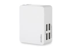安億迪 anidees 4埠 4.8A USB智能充電器 (摺疊頭)