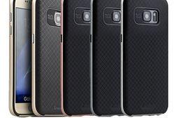 iPAKY 艾派奇 SAMSUNG Galaxy S7 edge 大黃蜂保護殼 背蓋 防刮耐磨