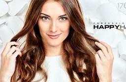 只要599元起即可享有【HAPPYHAIR《台中興祥店》】原價最高1,950元剪/護專案:(A)時尚美感頂級造型剪髮/(B)時尚美感頂級造型剪髮&日本TM時光奇蹟迷你護髮。