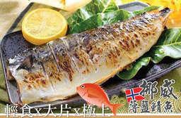 破萬團購再一發!【挪威薄鹽鯖魚】深夜食堂香濃一夜干,魚肉細緻少刺,流出肥美魚油~ 只要599元起,即可享有挪威薄鹽鯖魚/大片挪威薄鹽鯖魚/極上挪威薄鹽鯖魚〈10片/12片〉