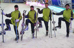 新竹 平假日皆可使用~【新竹-小叮噹科學主題樂園】盡情飆速馳騁在零下10度的750坪超大室內滑雪場、以科學為主題融入大自然的親綠環境,等你來體驗! 只要740元起,即可享有【新竹-小叮噹科學主題樂園】平假日皆可使用x滑雪體驗x北海道室內滑雪場-滑雪專人教學課程〈北海道室內滑雪場-專業滑雪教練教學一小時(不含禦寒裝備) + 租借滑雪裝備 + 小叮噹科學主題樂園門票〉