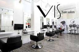 近捷運中山站!【Vis hair salon】時尚雅緻、純淨質感!用最專業的技術,重視妳的頭皮與頭髮,為您打造迷人髮型,更能培養健康的養髮之道! 中山區 只要249元起,即可享有【Vis hair salon】A.日本資生堂SHISEIDO頭皮Spa / B.日本資生堂SHISEIDO專業頭皮養護 / C.日本資生堂SHISEIDO染髮