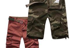 美式休閒多口袋工作短褲,今日結帳再打85折