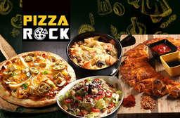 來自義大利的好味道-【Pizza Rock(八德店)】使用最好的食材+自製配方+義式道地傳統,讓您聚餐享美食又多一個口袋名單! 松山區 只要219元,即可享有【Pizza Rock(八德店)】平假日皆可抵用300元消費金額〈特別推薦:義式青醬雞肉帕尼尼、手撕豬肉帕尼尼、凱薩沙拉、香烤小翅腿、布朗尼香草冰淇淋、紅醬蘑菇花椰焗烤、白醬蝦仁蘑菇焗烤、香料麵包條〉