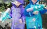 生活市集 4.2折! - 學生帶書包環保透氣雨衣