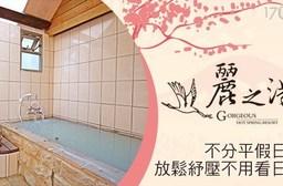 麗之湯溫泉會館-假日不加價!微涼和風戲水休憩專案