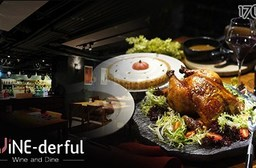 WINE-derful 葡萄酒餐廳-感恩節烤雞四人套餐