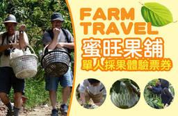 台灣休閒農業發展協會(採果) 9折 單人採果體驗票券