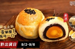 【里洋烘焙】金牌經典菠蘿蛋黃酥月餅(9顆/盒)-任選2盒 共