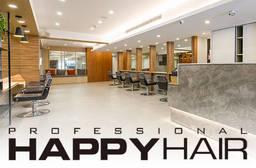 HAPPYHAIR 3.1折 A.加拿大角蛋白迷你護髮+設計剪髮 / B.伊聖詩雙效奇肌HairSpa / C.專業質感染/燙髮(冷燙) 二選一+加拿大角蛋白迷你護髮