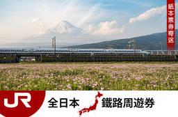 海外票券 連續火車票7天/14天/21天,成人普通艙/兒童普通艙