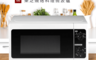 TOSHIBA 6.4折! - 25L東芝燒烤料理微波爐(ER-SGS25 K TW)
