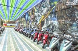 台南文創機車出租 7.2折 假日不加價,輕鬆遊台南專案