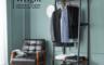 H&D 5.0折! - Wright 萊特工業風開放式雙層2.1尺掛衣架-吊衣櫃(衣櫃/開放式