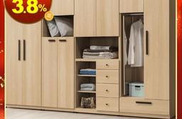【Homelike】安禾2.5尺四抽衣櫃