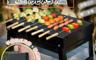 生活市集 5.7折! - 大黑鋼折疊快速燒烤爐/燒烤架/烤肉架/摺疊烤肉架